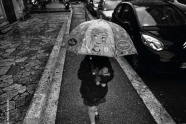 Via Street Photography Exhibition In Rome