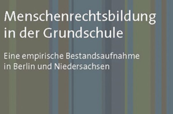 Cover for Book on Menschenrechtsbildung in Schools