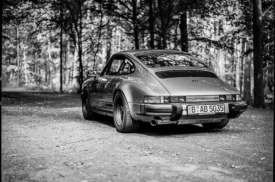 Porsche 911 and Trees